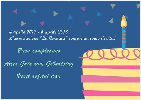 Buon Compleanno Cordata!!