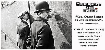 Aperitivi con l'Arte - Henri Cartier Bresson: un mito suo malgrado