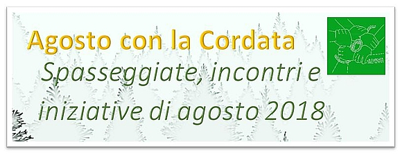 Agosto 2018 - Estate in Cordata