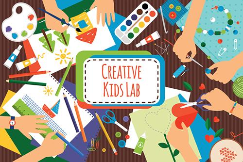 Laboratorio creativo invernale per bambini