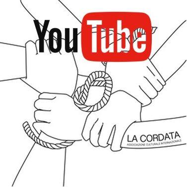 Logo Cordata e YouTube - Il nostro canale